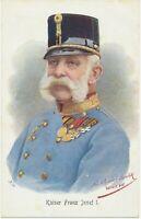 ÖSTERREICH KÖNIGSHÄUSER ca. 1915, ungebrauchte Kab.-AK KAISER FRANZ JOSEF I.