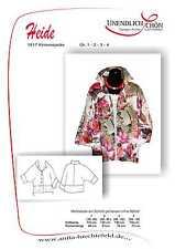 Kimonojacken Schnittmuster Größen 1 - 4  Mehrgrößenschnitt mit Naht