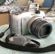 Canon PowerShot SX110 IS 9.0MP Digital Camera~~Rare Silver!~~Nice~~