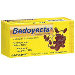 VITAMINS: Bedoyecta Capsules with 30