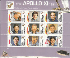 Ghana MNH Sc 1701  S/S  Value $ 8.75  US $$  Apollo 11