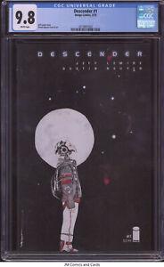 Descender #1 2015 CGC 9.8 - Jeff Lemire story Dustin Nguyen cover & art