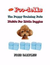 """300-17x24"""" Poo-dells the Lightweight Puppy Training Pads Made for Little Doggies"""