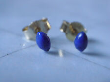 Kleine Lapis Lazuli Ohrstecker Gold 333, Ohrstecker Gold 333 mit Lapis Lazuli