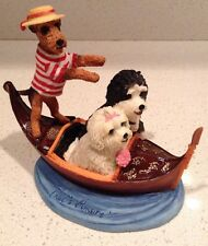 That's Amoré Travel Dogs in Italy Gondola Ride Figurine Gail Marie PCT 2006
