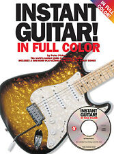Instant Guitar In Full Colour Learn to Play Beginner Easy Music Book & CD