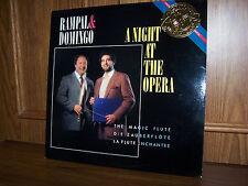 MINT RAMPAL AND DOMINGO A NIGHT AT THE OPERA LP CBS MASTERWORKS 1986 IM 42100