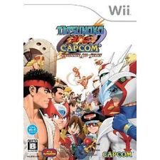 TATSUNOKO VS CAPCOM Nintendo Wii ULTIMATE ALL-STARS