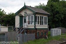 Brereton Sidings Signal Box Rugeley staffs 2008 Rail Photo