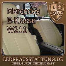 LEDERAUSSTATTUNG DE Mercedes W211 Sitzbezüge,Ledersitzbezüge,Schonbezüge, Tuning