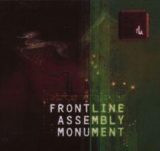 FRONT LINE ASSEMBLY Monument CD Digipack 2007 LTD.2000