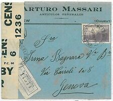 ARGENTINA - POSTAL HISTORY: COVER to ITALY 1953 . NICE