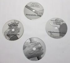 Escrima Sword Training Eskrima Kali Arnis Karate Silat Filipino Moro 4 DVD Combo