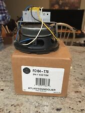 atlas soundolier 4 inch Pa speaker with transformer tap Fc104-T70