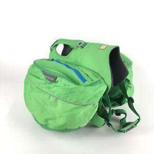 Ruffwear Approach Pack Dog Hiking Backpack Meadow Green L/XL