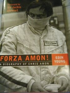CHRIS AMON EOIN YOUNG FERRARI 312 WOLF CAN AM 712P FORD GT40 MATRA MS120 LE MANS