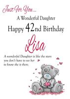 HANDMADE PERSONALISED BIRTHDAY CARD - MUM SISTER FRIEND ANY! 30th 40th 50th Any