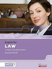English for Law in Higher Education Studies by Jeremy Walenn (Mixed media...
