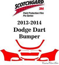 3M Scotchgard Paint Protection Film Pro Series Clear Bra 2013 2014 Dodge Dart