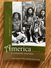 America A Concise History Fifth Edition James A. Henretta