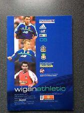 Wigan Athletic v Wrexham programme 2001/02