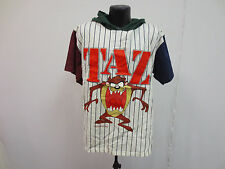 TAZ TASMANIAN DEVIL M/L SHIRT CREW VINTAGE ADULT WARNER BROS LOONEY TUNES GENUS