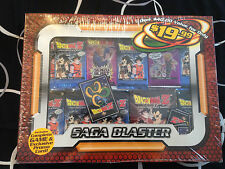 NEW DRAGONBALL Z - DBZ SAGA BLASTER CARD SET: STARTER DECK & BOOSTER PACKS