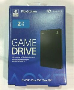 Seagate Game Drive for PlayStation 2TB, (STGD2000100)