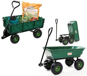 Gartenwagen 350kg m.Luftreifen Bollerwagen Handwagen Transportwagen
