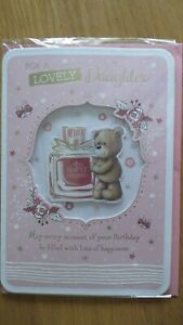 TO A LOVELY DAUGHTER EXTRA  LARGE  SIZE BIRTHDAY CARD