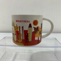 Starbucks Montreal You Are Here Collection Coffee Tea Mug Cup 14 Oz 2014 New