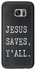 Jesus Saves Y'All For Samsung Galaxy S7 Edge G935 Case Cover by Atomic Market