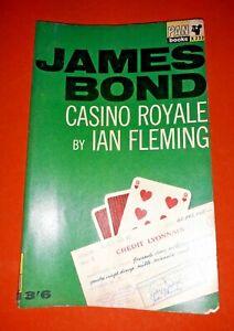 JAMES BOND 007 CASINO ROYALE IAN FLEMING PAN BOOKS PAPERBACK 1955 EDITION