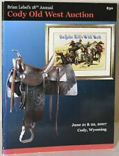 author / BRIAN LEBEL'S 18TH ANNUAL CODY OLD WEST SHOW & AUCTION 2007 #256298
