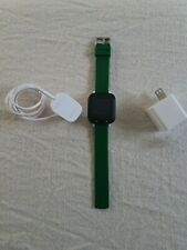 Gizmowatch Gizmo Watch Smartwatch Verizon Wireless - Black With green Band kids