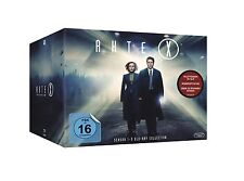 AKTE X 1-9 DIE KOMPLETTE SEASON / STAFFEL 1 2 3 4 5 6 7 8 9 DEUTSCH BLU-RAY BOX