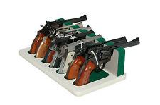 Creighton 7-Slot 04 White & Green Full Size Gun Rack for Safes & Display