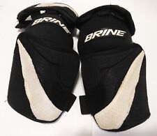 Brine Lax Elbow Arm Guards Spartan Black White Size Med/Large