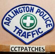 ARLINGTON, VIRGINIA TRAFFIC POLICE SHOULDER PATCH VA
