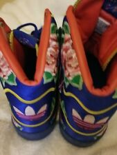 Men's Adidas Jeremy Scott Wings Floral size US 6.. Only worn once.Great Conditio