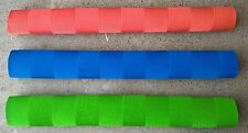 3x CHEVRON Cricket Bat Grips - BLUE, RED & FLURO GREEN - Oz Stock