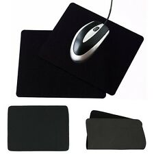 New Universal Anti-Slip Laptop PC Mice Pad Mousepad Mat For Optical Mouse Black
