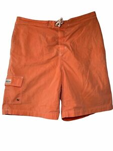 Polo Ralph Lauren Swim Trunks Board Shorts Men's L 36 Orange Swimming Sumertim
