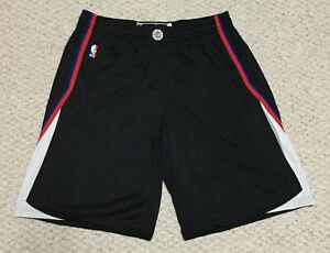 Los Angeles Clippers NBA Authentic on-court Basketball Shorts Men's(5XL)