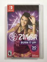 Zumba: Burn It Up! (Nintendo Switch, 2019) BRAND NEW - Fast Free Shippng