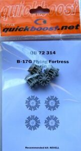 Quickboost 1/72 B-17G Flying Fortress Engines # 72314