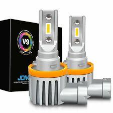 JDM ASTAR 2x Fanless White H11 High Power CSP 5000LM LED Fog Driving Light Bulbs