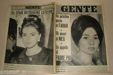 GENTE 1964/23=FARAH DIBA=CATHERINE SPAAK=BARTOLO CATTAFI=SERGIO FRANCHI=BEATLES=