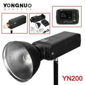 DHL YONGNUO YN200 TTL HSS 2.4G 200W Pocket Flash Light Outdoor Camera Speedlite