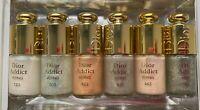 Dior Addict nail polish 123 403 423 433 443 503 set 7,5 ml x 6 vintage